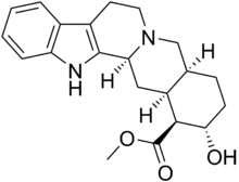 Rauwolscine Chemical Structure