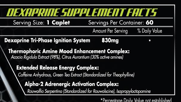 Dexaprine Ingredients